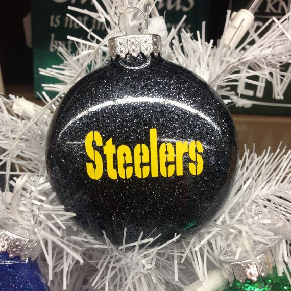 Holiday Christmas Tree Ornament NFL Football Pittsburgh Steelers