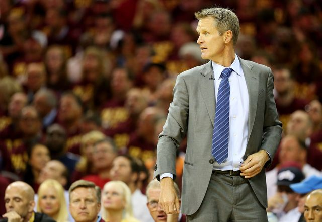 Golden State Warriors head coach Steve Kerr: 'I lied' about starting lineup in Game 4 of NBA Finals - newsnet5.com Cleveland