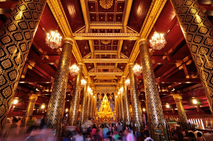 Phra Buddha Chinnaraj, Phitsanulok, Thailand [been here!]