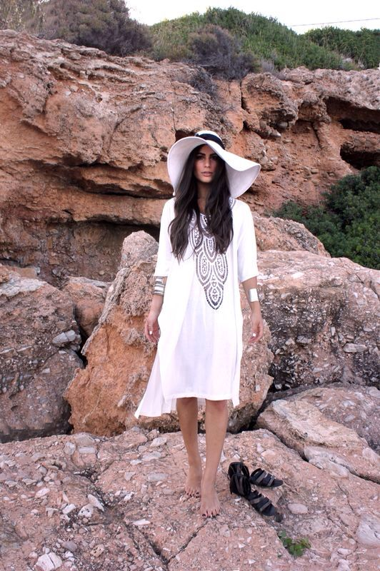 Caftan with lace summer collection #bynadiarapti