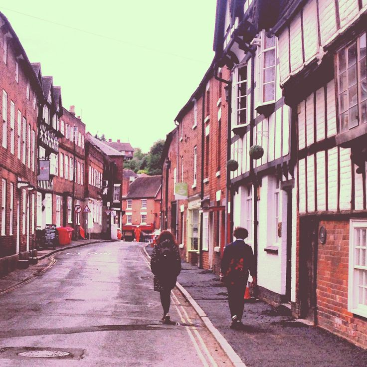 Summer walk in Bewdley