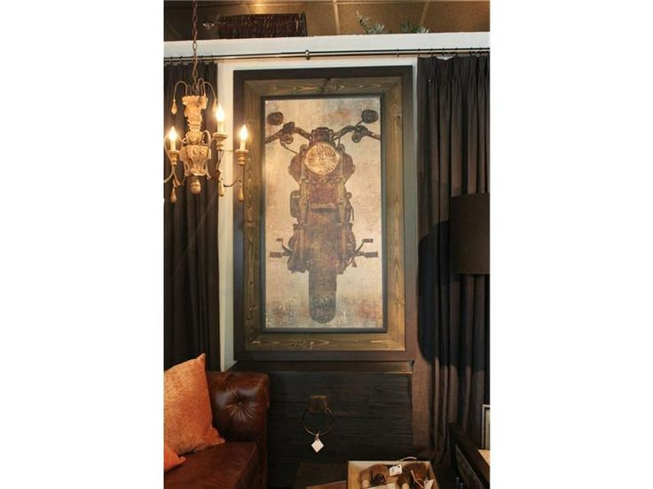 How great would this Motorcyle Wall Art be in an office     Back Home. 141 best Austin Furniture Finds images on Pinterest   Red chairs