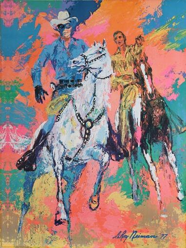 In memory of LeRoy Neiman - Lone Ranger