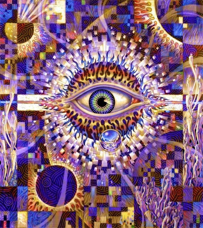 Favorit 197 best Psychedelic / Spiritual Art images on Pinterest  XM18