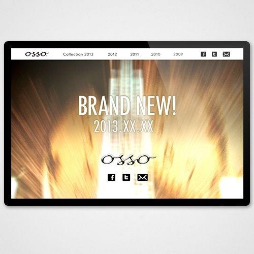 ティザーサイト | OSSO様 | ケセラセラ実績サイト|株式会社 ケセラセラ -United Worlds of queserser-