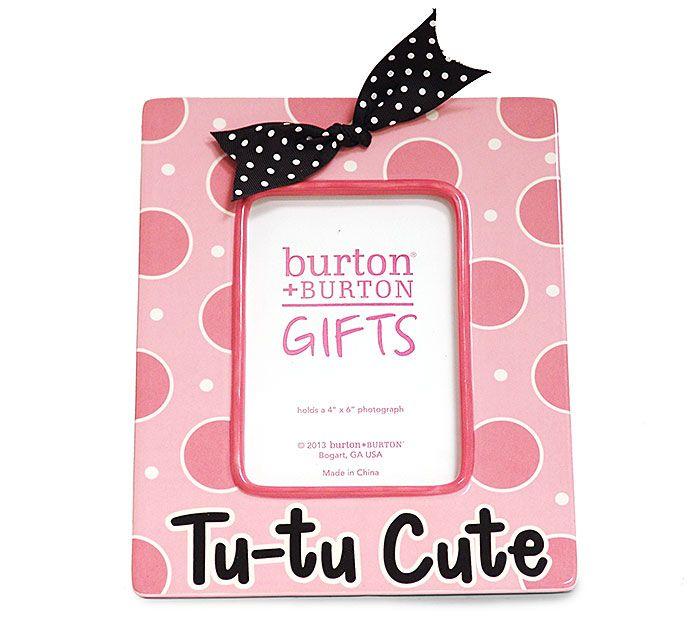 Perfect for a Ballerina or Princess Gift! #burtonandburton #ballerina #princess #frame