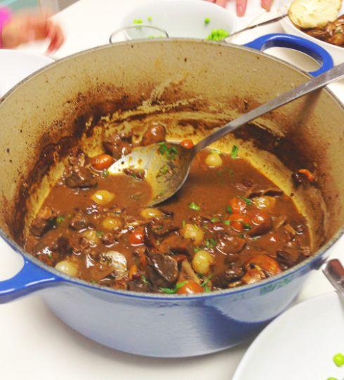 Julia Child's Beef Bourguignon Recipe
