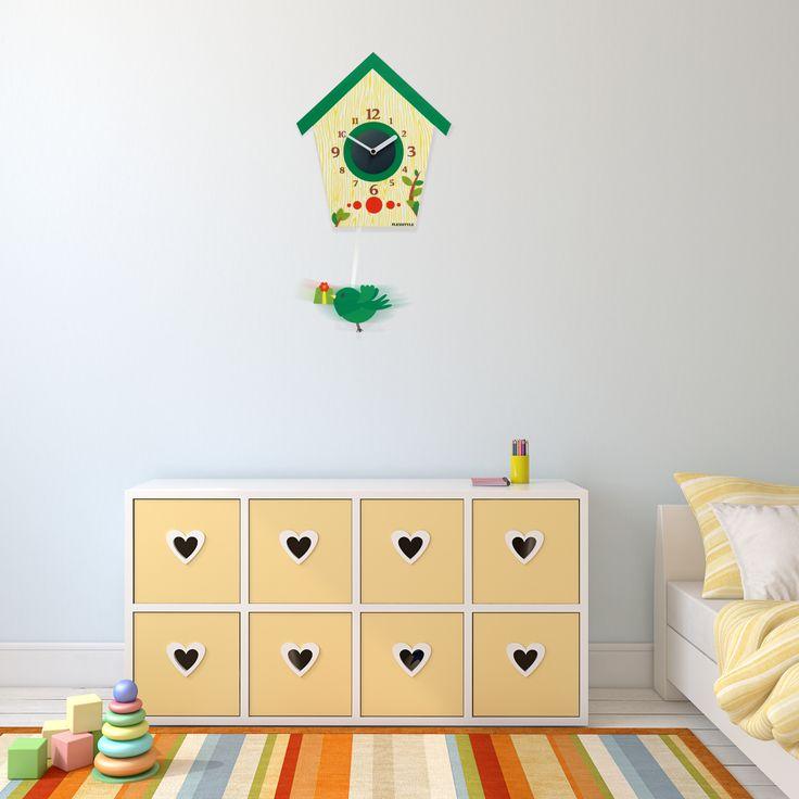 Štýlové nástenné hodiny do detskej izby