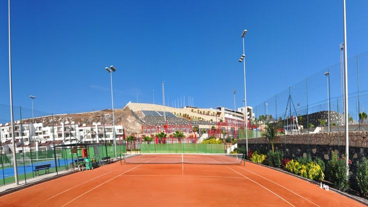 We have two Clay Courts in our center Tenerife Top Training!