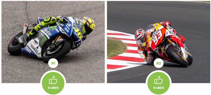 Who is the better driver in MotoGP? Valentino Rossi or Marc Márquez