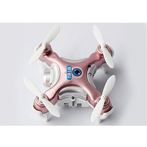 ELEMO WIFI RC Quadcopter 24G 4CH 6 Axis 3D FPV Mobile Phone Control Mini RC Quadcopter Drone With 03MP HD Camera for iOS  Android APP Wifi Romote Control RC FPV Real Time Video HelicopterGolden ** Read more reviews of the product by visiting the link on the image.Note:It is affiliate link to Amazon.