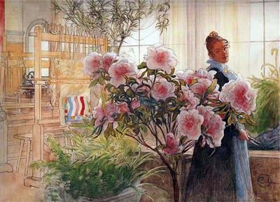 Carl Larsson -- just came home from door county where I was reminded how much I love his art.
