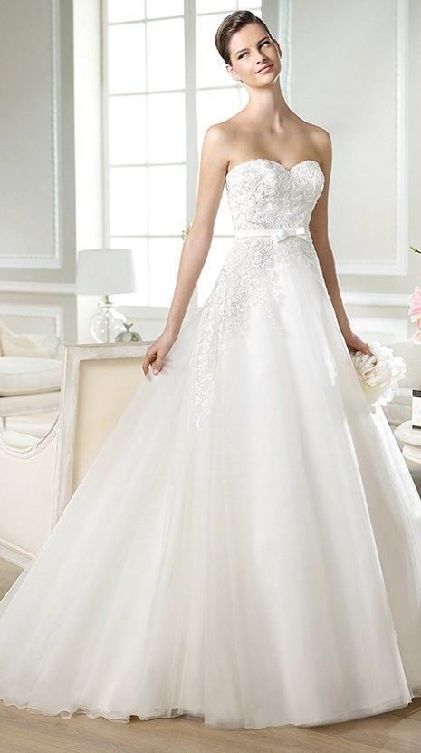 New Style A Line Organza Bride Wedding Dress Bridal Dress Custom Dress
