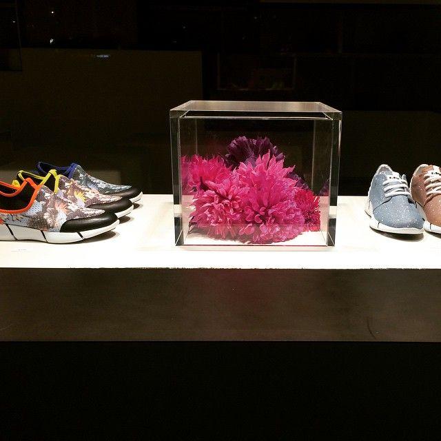 Sneakers Elena Iachi @StrategiaShop-Milano  available online www.elenaiachi.com #flowers #elenaiachi #sneakers #glitter #ayumi #calu #running #top #collection #springsummer2015 #flagshipstore
