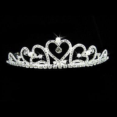 Gorgeous Alloy With Czech Rhinestones Wedding Bridal Tiara/ Headpiece – USD $ 24.99