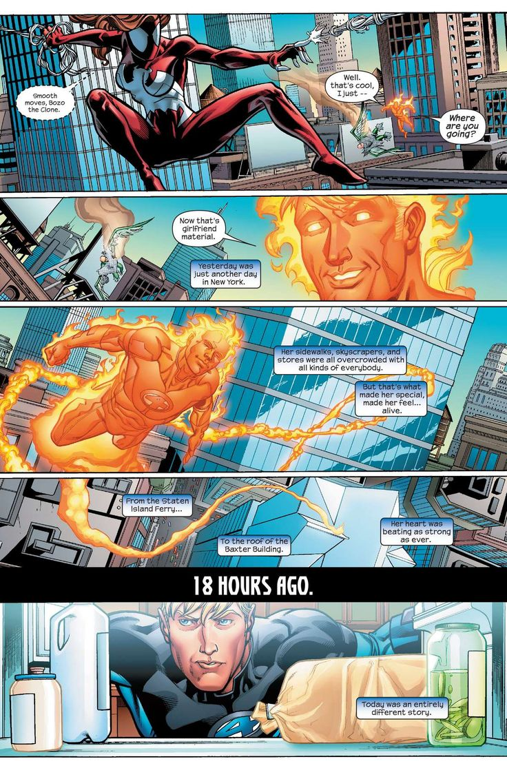 Ultimatum Fantastic Four Requiem (2009) 1 page 3 online
