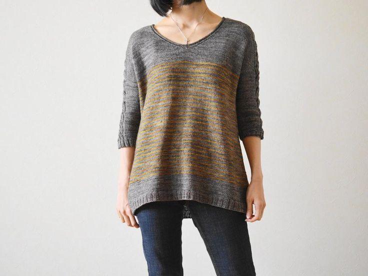 Lattice or Braid Knitting pattern by Ririko Braid