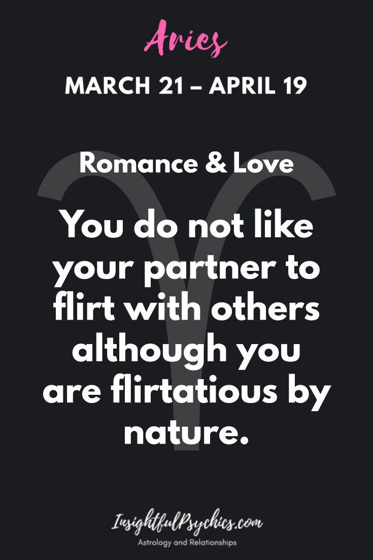 Aries In Love and Relationships | Aries | Aries love, Aries