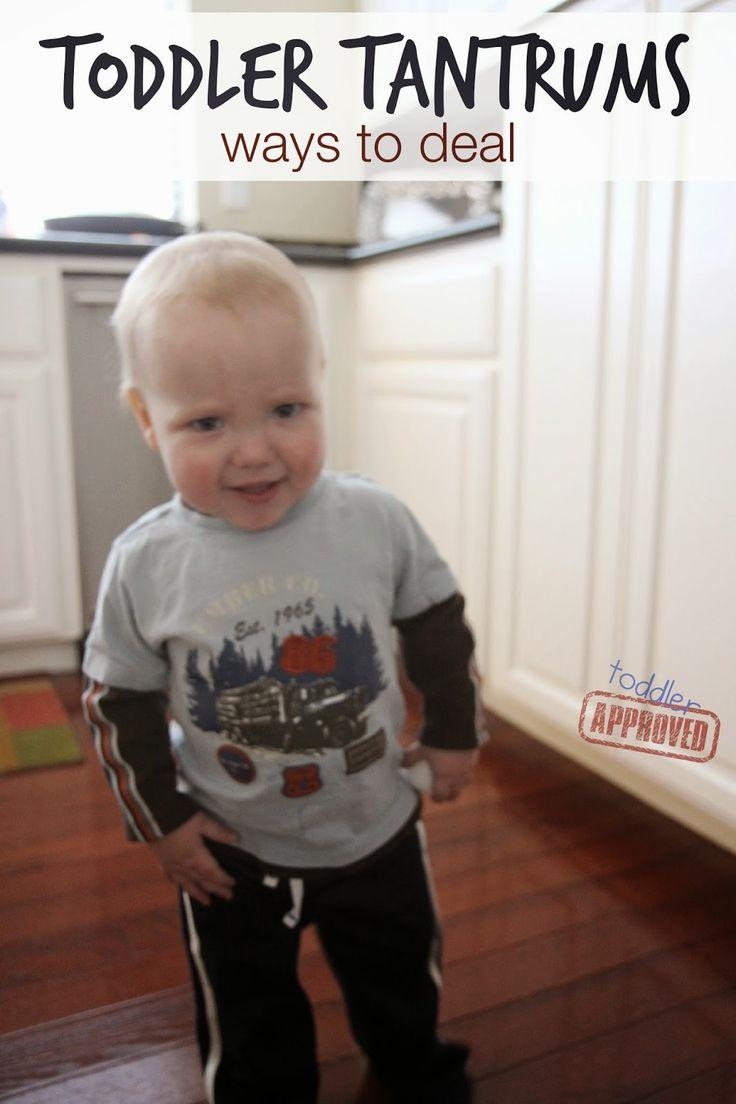 Toddler Approved!: Toddler Tantrums... Ways to Deal