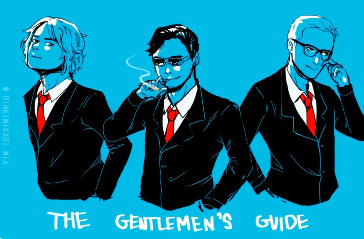 The Gentlemen's Guide by mikkie12 on DeviantArt---sCREAMING