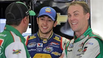 Pre-Race Notes and Quotes: Darlington...Nice to see Harvick smiling again!  JR Motorsports