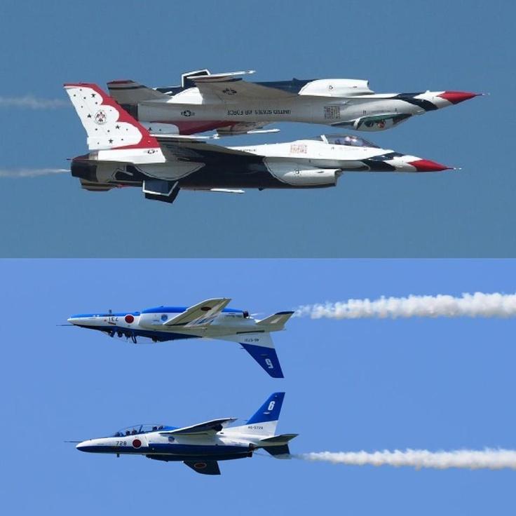 Japan Air Force Blue impulse