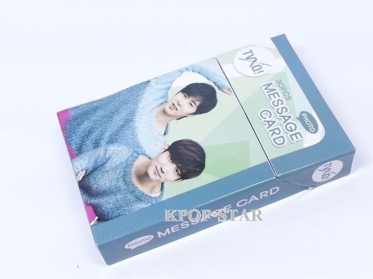 TVQX U Know MAX Photo Message Card ( 30 Piece ) KPOP K-POP Korean K Pop