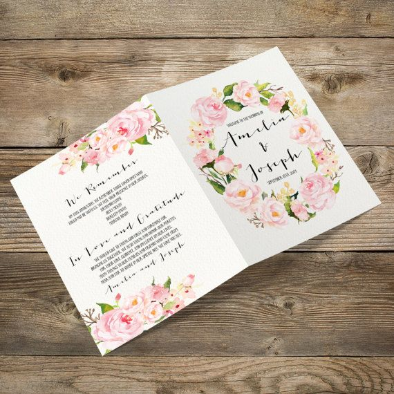 Wedding Invitation Booklet Style: 1000+ Ideas About Wedding Booklet On Pinterest