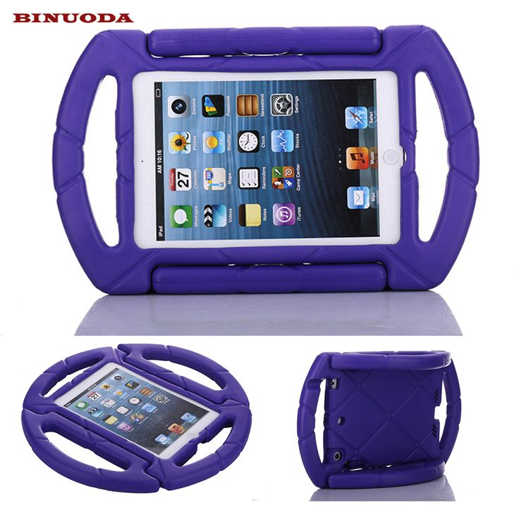 For Fundas iPad Mini 4 Cases Cover Kids Shock Proof Steering Wheel Case with Handle for Apple iPad Mini 1 2 3 4 7.9inch Tablet
