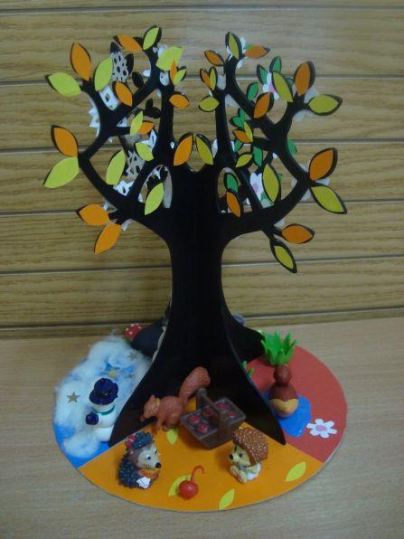 Дерево для детского сада своими руками