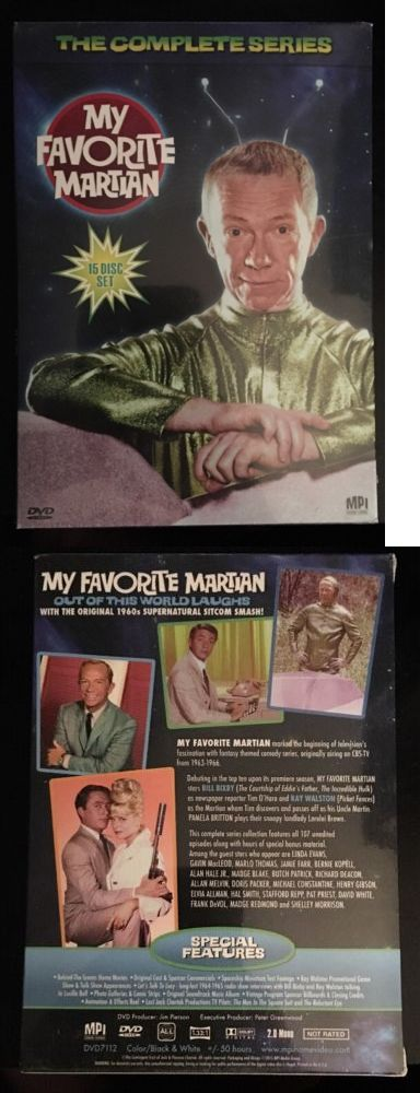 cds dvds vhs: My Favorite Martian Complete Series New 15 Dvd Set Seasons 1-3 Free Shipping!! -> BUY IT NOW ONLY: $48 on eBay!