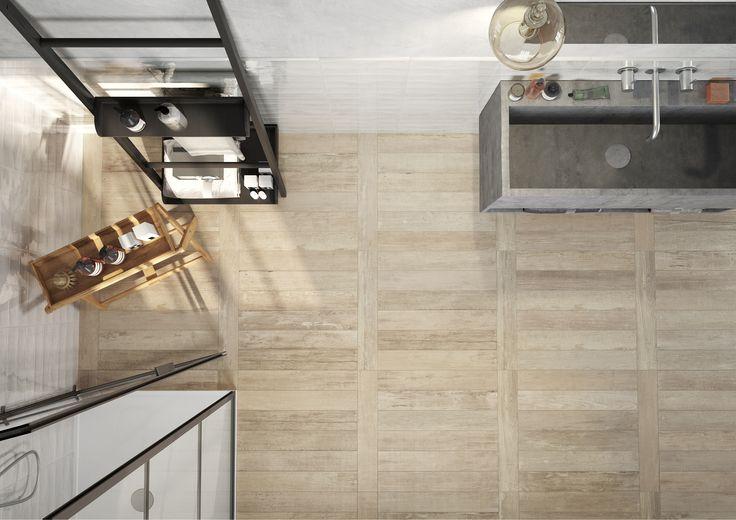 Edilcuoghi | Groove #design #tile #bathroom #ceramica #italy #italia #italian #style #interior #architecture #gres #edilcuoghi #groove