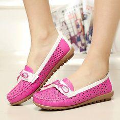 #Banggood Плоские Мокасины Женщины скольжения на открытом воздухе Casual мягкая обувь (1127644) #SuperDeals