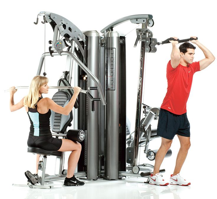 Apollo 7000 Series AP-7300 3-Station Multi Gym by TuffStuff Fitness. Ideal for home or for apartments, hotels, fire stations and more.