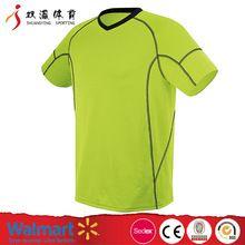 Hot product cheap custom soccer jersey/football jersey,round collar black short sleeve USA football shirt maker football jersey