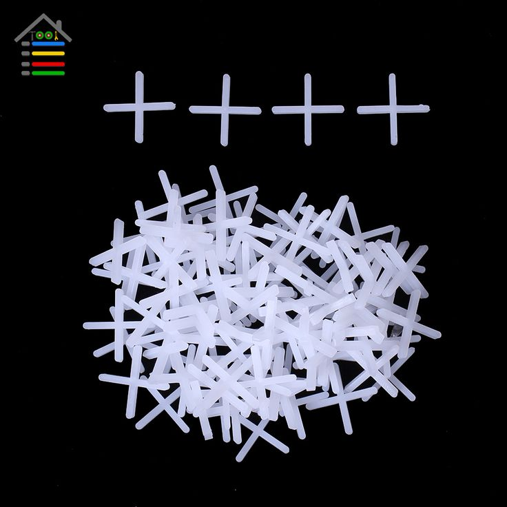 De Calidad superior 1000 unid Plástico Espaciadores Del Azulejo Tipo Cross Spacer 1mm Suelo de Baldosas De Cerámica de Pared y Piso Soladores Fontaneros Ajustar intervalo de Brecha