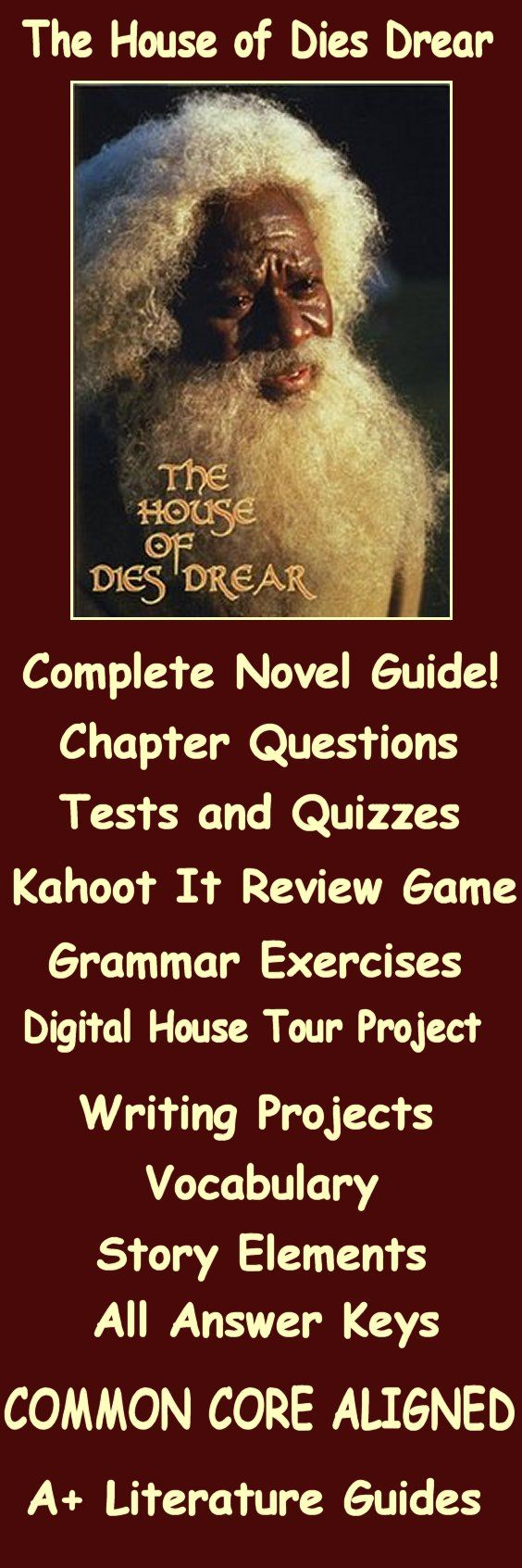 house of dies drear By: ronald bonner house of dies drear: chapter 2 mr small had explained that slaves who were fleeing had to be very strong, brave, and smart to keep from getting caught the man who first owned the house that the smalls are moving into was named dies drear drear was an abolitionist of slaves who.