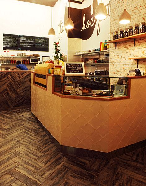 Choc Pot - Burwood Central. Designed by Creative Differences Studio, fitout by Protech Hospitality