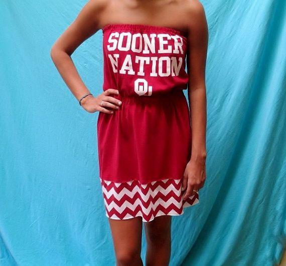 Oklahoma University Game Day Dress  Sooners by LoveMyGameDress