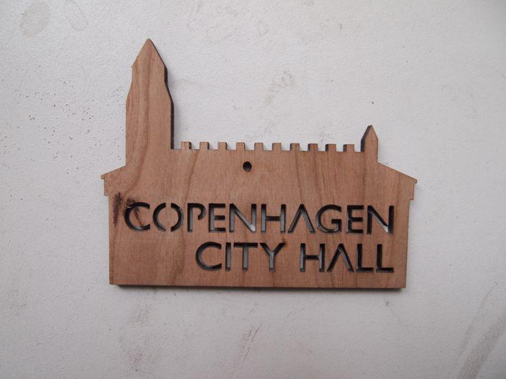 Keyhanger for Copenhagen Town Hall - lasercut