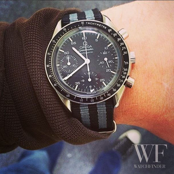 Our pick of this weeks new arrivals is this #Omega #SpeedMaster Reduced - I have my eye on it!
