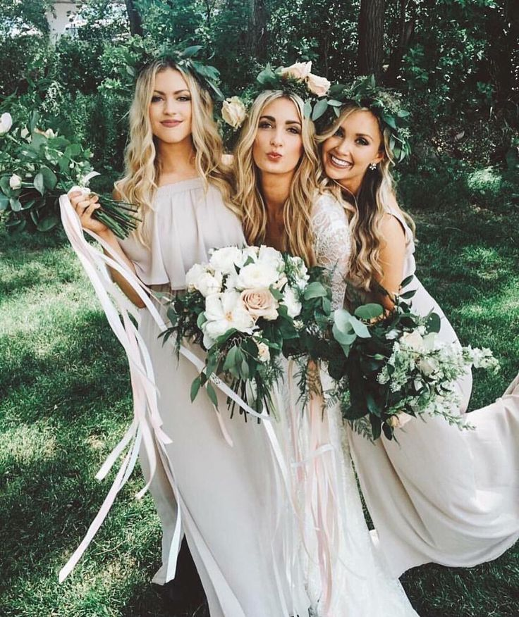 Beautiful 63 Stylish White Bridesmaid Dresses For Your Wedding
