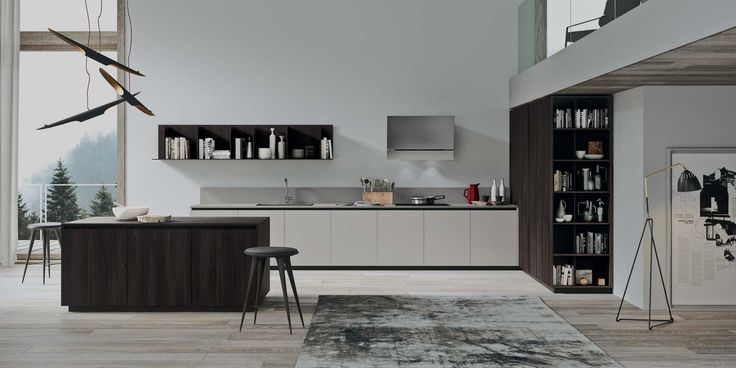 Modern affordable Italian kitchen collection 2.1 by Copatlife. Color combination option is available. Variety of colors and finishes to choose from.  Visit our showroom for more details.