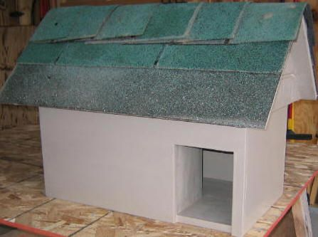 Free Cat House Plans - How To Build A Cat House
