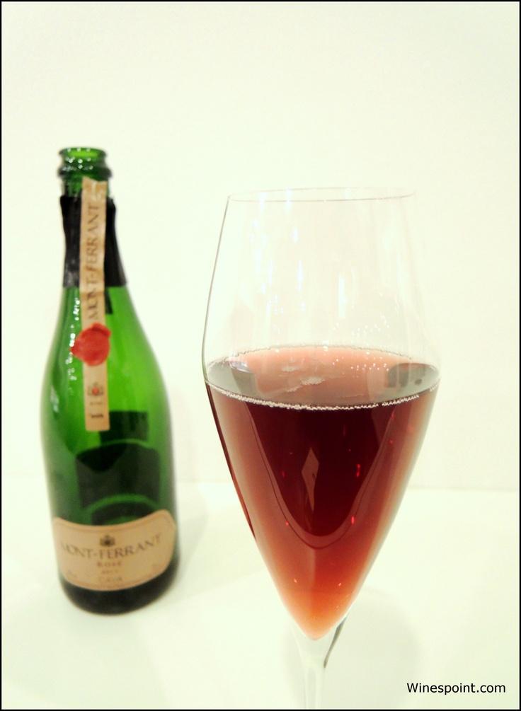 Mont #Ferrant, Cava, Rose, Spain.  Regular price: around EUR 17 #Winespoint rating: 80