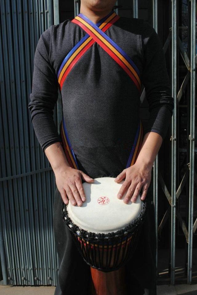 African drum straps DJEMBE / SAMBA Drum Strap HARNESS Djembe Shoulder Straps Hand drum straps