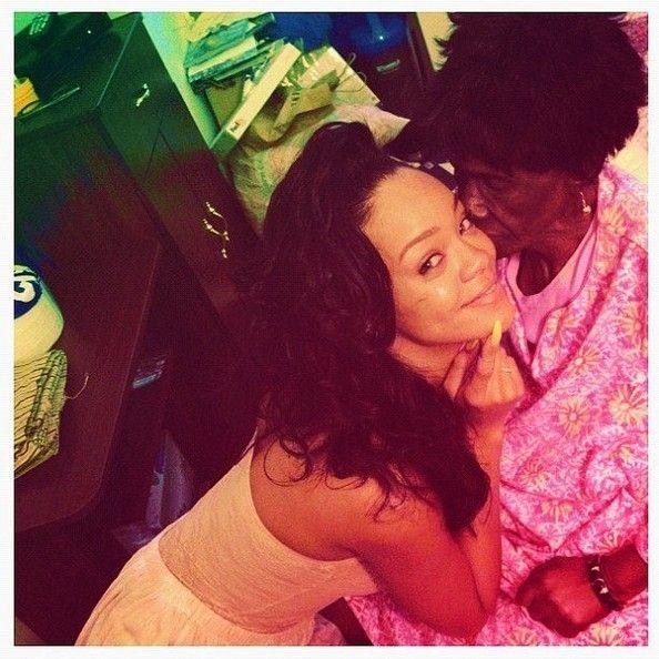 Rihanna Photos - Rihanna shares her life in pictures on Facebook. - Rihanna Shares Personal Photos
