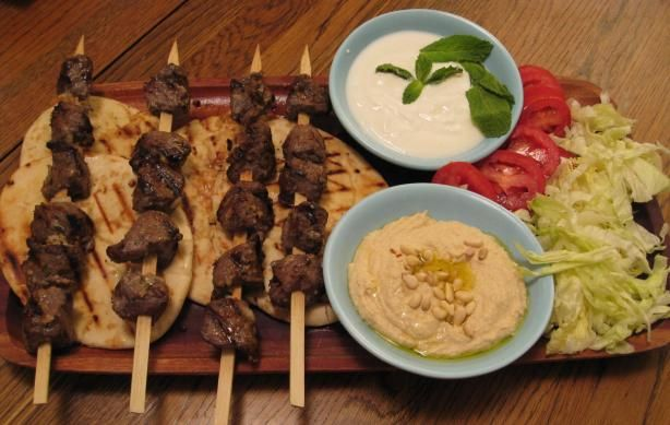 Lamb Souvlaki | Recipe