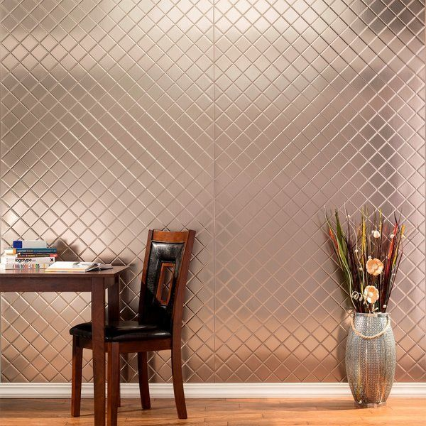 Gesteppte 48 39 39 X 96 39 39 Pvc Wandverkleidung Aus Geburstetem Nickel Aus Fa In 2020 Decorative Wall Panels Pvc Wall Panels Vinyl Wall Panels