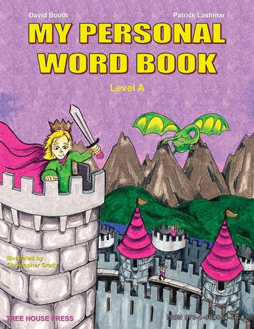 My Personal Word Book Level A - a personalized dictionary, thesaurus, and reference book for students.